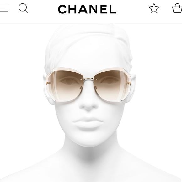 74b4732f02414 Chanel 4220 Round Sunglasses